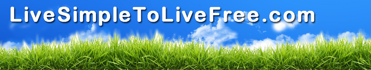 Live Simple To Live Free
