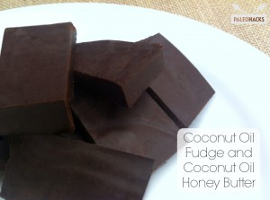 Coconut Oil Chocolate Fudge